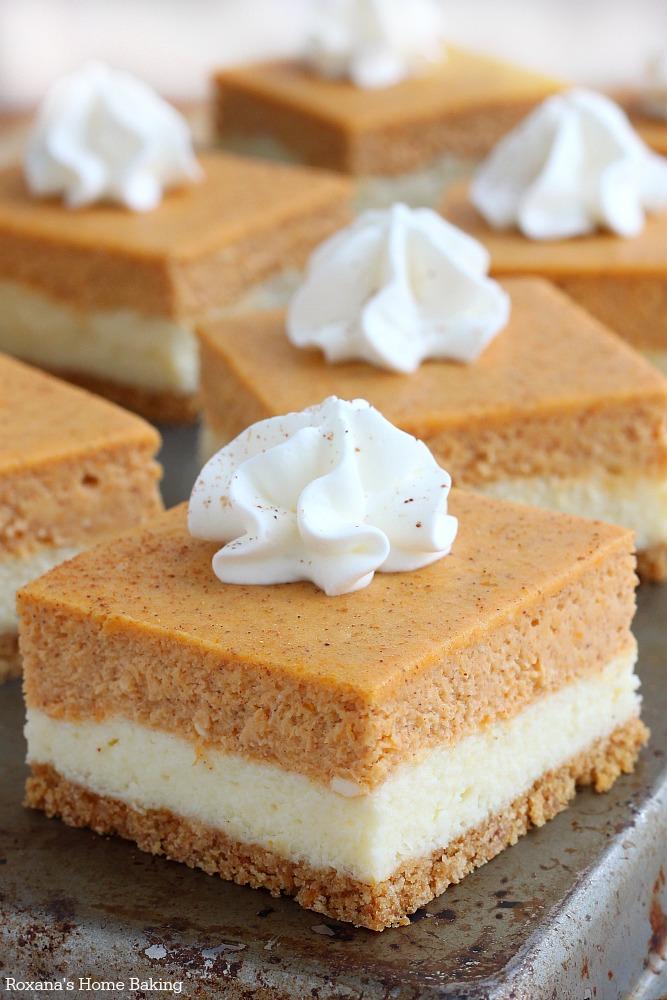 Pumpkin Pie Cheesecake Squares « Marlene Koch Marlene Koch